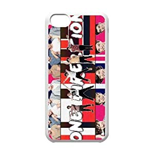 Custom High Quality WUCHAOGUI Phone case One Direction Music Band Protective Case For Iphone 5c - Case-6
