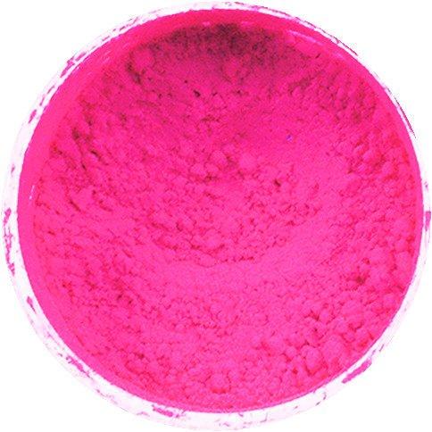 '1boîte de pigments de couleur env. 1G couleur rose fluo