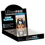 Ultra Pro Mylar Magazine Size 8-1/2 x 11 Bags (100 Count Box), Small, Clear