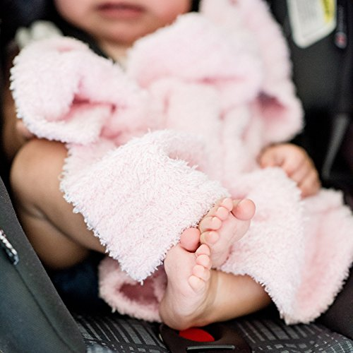 Pink Luxury Baby Blanket - Saranoni Bamboni Luxury Bamboo Baby Blanket (Mini (15