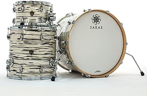 SAKAE Trilogy Mint Oyster Pearl 3pcs Acoustic Drum: Amazon.es: Instrumentos musicales