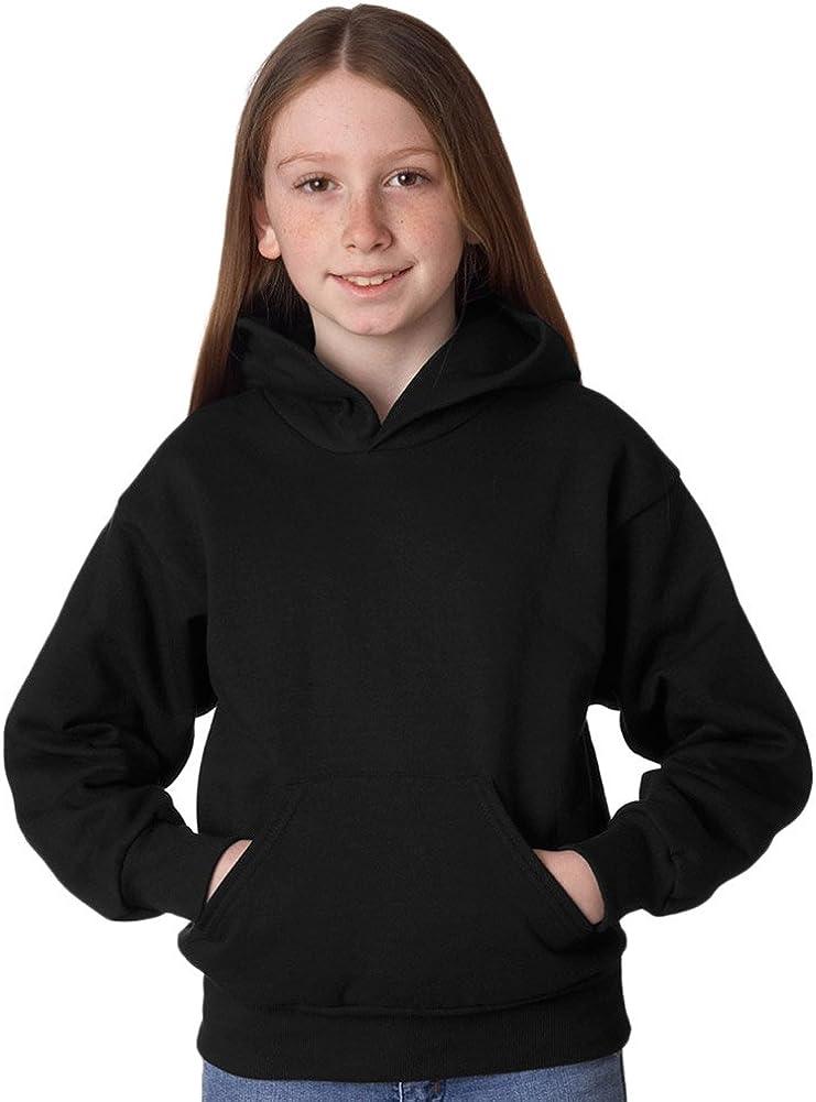 Hanes Youth ComfortBlend EcoSmart Hooded Pullover Fleece