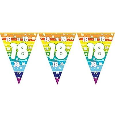 Givi Italia 54188PVC Drapeau Guirlande 18ans MT. 3.6, Multicolore