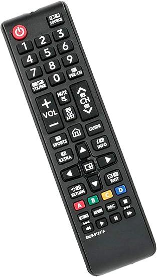 VINABTY Reemplazo BN59-01247A Control Remoto para Samsung LED Smart TV UE55KU6500U UA78KS9500W UA88KS9800 UE40KU6000 UE49KU6500U-No Se Necesita configuración: Amazon.es: Electrónica