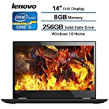 "2018 Lenovo Flagship Newest 14"" Flex 5 Anti-Glare IPS Display Touchscreen 2in1 Laptop, Intel Core i5-8250U Processor Up to 3.40 GHz), 8GB Mermory, 256GB SSD, Intel HD Graphics 620, Win10, HD Camera"