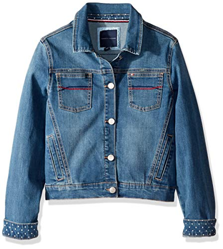 Tommy Hilfiger Big Girl's Big Girls' Denim Jacket Outerwear, Embro Broadway, L12/14 ()