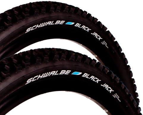 Schwalbe Black Jack - Cubiertas para bicicleta (2 unidades, 26 ...