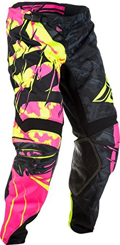 Fly Racing Unisex-Adult Kinetic Womens Race Pants Pink//Purple, Size 78
