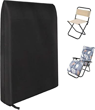 Waterproof Chaise Lounge Chair Recliner Cover Outdoor Patio Furniture Protector