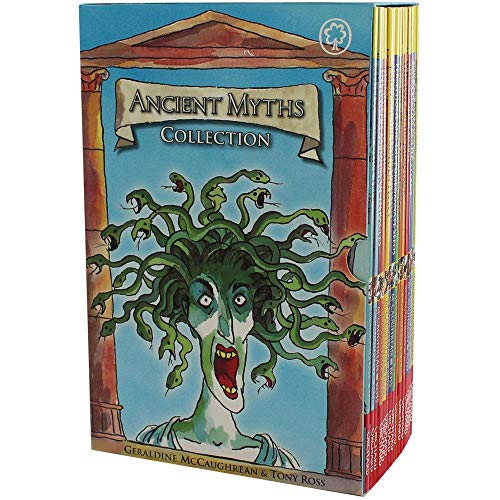 Ancient Myths Collection 16 Books Box Set (Theseus And The Minotaur Myth For Kids)
