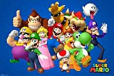 Pyramid America Super Mario Bros Nintendo Video Gaming Poster 36x24 inch