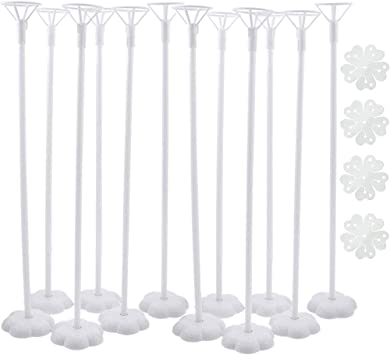 BALLOON BASE TABLE SUPPORT HOLDER CUP STICK STAND BIRTHDAY PARTY PROPS SUPER
