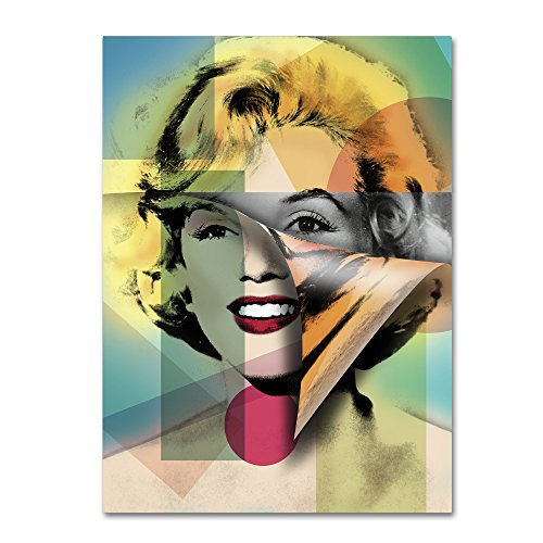 Marilyn Monroe IV by Mark Ashkenazi Wall Decor, 35 by 47
