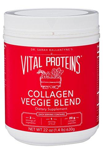 Dr. Sarah Ballantyne's Collagen Veggie Blend, 22 oz Canister by Vital Proteins