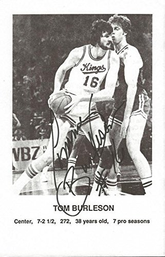Autographed Tom Burleson Photo - Paperstock Kings NC State - JSA Certified - Autographed NBA Photos