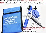 NEW CYNAMED BRANDED Basic Student Pocket Size LED Otoscope SET Fiber Optic -A+ QUALITY