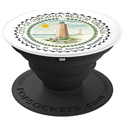 City of Virginia Beach - United States of America USA - PopSockets Grip and Stand for Phones and -