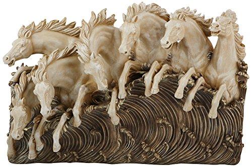 Design Toscano Neptune's Horses of the Sea Sculptural W