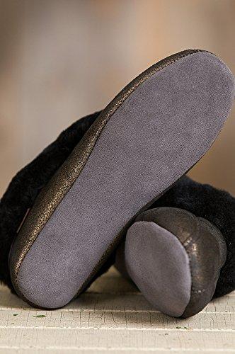 Sheepskin Womens Womens Overland Sparkle Slippers Gold Australian Merino Overland Scarlett Tnqn6p