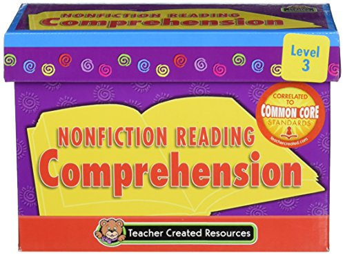 Teacher Created Resources Nonfiction Comprehension Cards (3055)