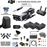 Artic White DJI Mavic Air Quadcopter Drone + 3 Battery With Accidental Warranty Bundle