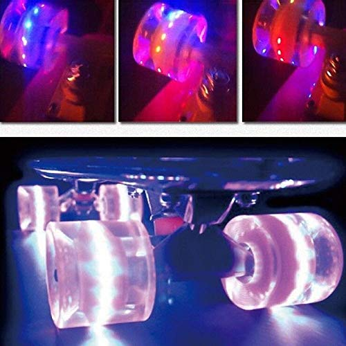 Led Light Up Longboard Wheels in US - 2