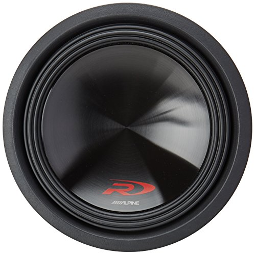 Alpine SWR-12D4 Type-R 12-Inch 1000W Subwoofer with Dual 4-o