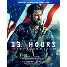 13 Hours: The Secret Soldiers of Benghazi [Blu-ray] (2016)