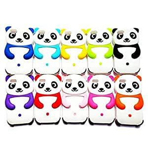 Gt Panda Shape Silicon Case for iPhone 5/5S , Yellow