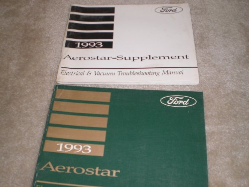 1993 Ford Electrical Vacuum Troubleshooting Manual and Supplement Aerostar 2 Vol. Set