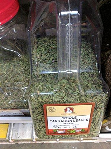 Chef's Quality Whole Tarragon Leaves 16 Oz