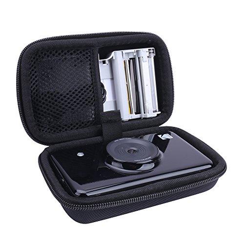 Hard Case for Kodak Mini Shot 2 in 1 Instant Digital Camera & Printer fits Spare Cartridge Refill by Aenllosi (Black)