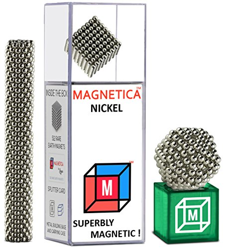 Magnetica Magnetic Ball (2.5mm) 512 Balls Set For Sculpture Stress Relief Intelligence Development and Desk Toy For Adults