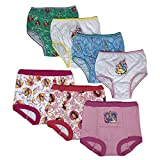 Disney Princess Girls Potty Training Pants Panties Underwear Toddler 7-Pack Size 2T 3T 4T