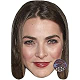 Celebrity Cutouts Bee Shaffer (Red Lipstick) Big Head. Larger Than Life mask.