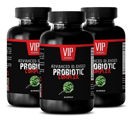 Probiotic immune support - ADVANCED BLENDED PROBIOTIC COMPLEX - Boost immune system - 3 Bottles 180 capsules