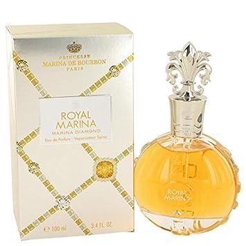 Royal Marina Diamond by Marina De Bourbon Eau De Parfum Spray 3.4 oz for Women – 100 Authentic