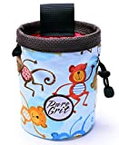 Pure Grit Monkeying Around Chalk Bag (Made in Usa) with Belt