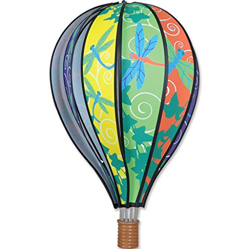 Premier Kites Hot Air Balloon 22 in. - Dragonflies (Whirligig Dragonfly)