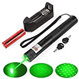 A Set of high-Power 2000m Green Light Pointer Demonstration Projector Pen  pet Toys (cat/Dog) Used in Education/Medicine/Real Estate/Camping/Outdoor Entertainment LED Lighting/Field Exploration and