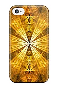 Hard Plastic Iphone 4/4s Case Back Cover,hot Gold Case At Perfect Diy