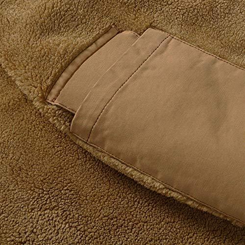 Semplice Lanceyy Tops Ntel Outdoor Uomo Manica Cappotto Bomber Alta Stile Cotton Capispalla Lunga Qualità Casual Mens Grün Jacket Inverno rzHSAr
