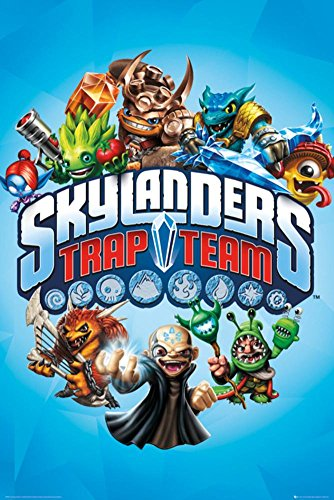 Laminated Skylanders Trap Team Poster 24 x 36in