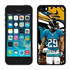 NFL&Jacksonville Jaguars William Middleton iPhone 5C Case Gift Holiday Christmas Gifts cell phone cases clear phone cases protectivefashion cell phone cases HLNB605585646