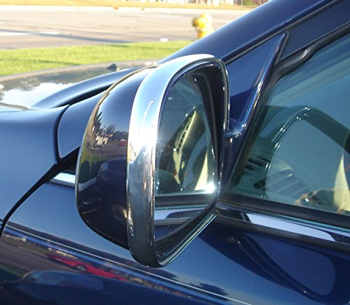 (TRUE LINE Automotive 2 Piece Chrome Side Mirror Trim Molding)