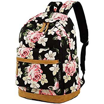 49a0569a51 Amazon.com  Lt Tribe Lightweight Canvas Laptop Backpack Black ...