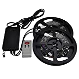 Best LEDwholesalers Rope Lights - LEDwholesalers 12V 32.8-ft RGB Color-Changing Kit with 150xSMD5050 Review