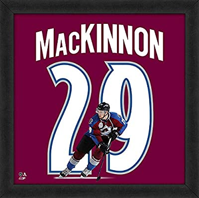 "Nathan MacKinnon Colorado Avalanche NHL UniFrame Photo (Size: 20"" x 20"") Framed"