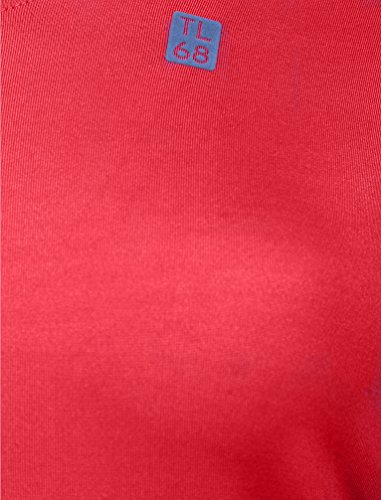 Tokyo Laundry - Camisa deportiva - camisa - Básico - Clásico - Manga corta - para mujer Rosso
