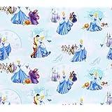 Fat Quarter The Little Mermaid Ariel Movie Scenes 100/% Cotton Quilting Fabric